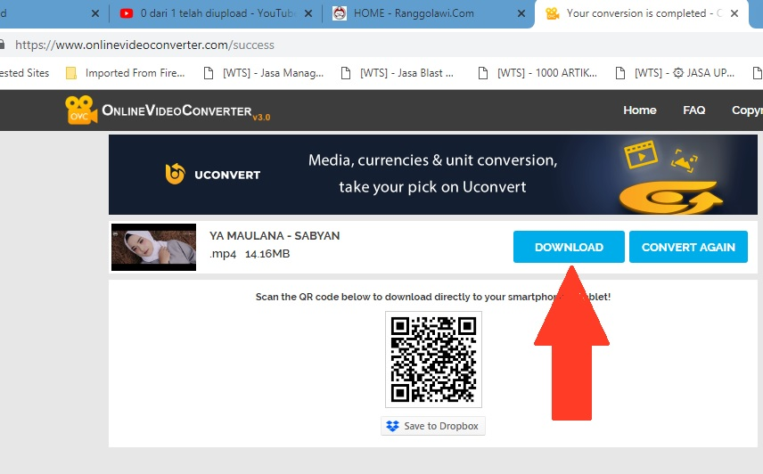 Cara Paling Mudah Download Video Youtube Via Online Video Converter